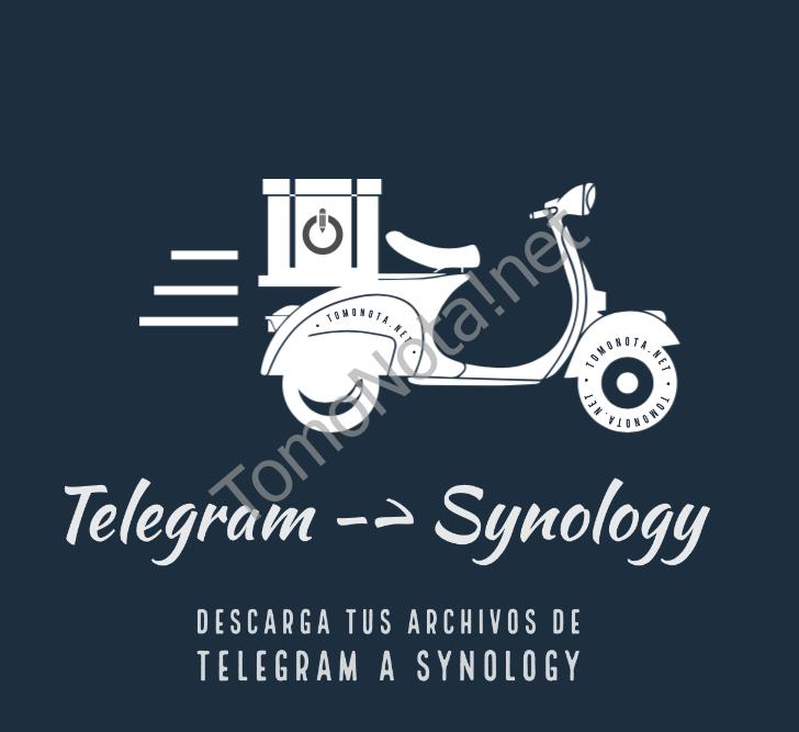 Descargar archivos desde Telegram en Synology con Bot.torrent