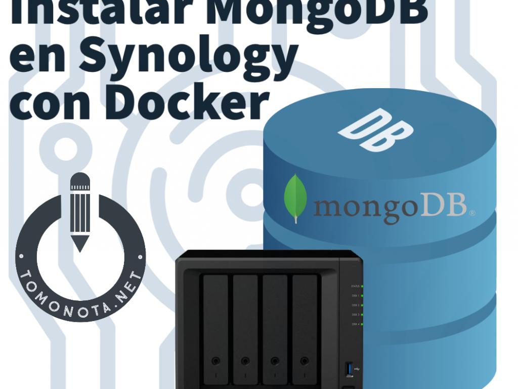 Instalar MongoDB en Synology con Docker.